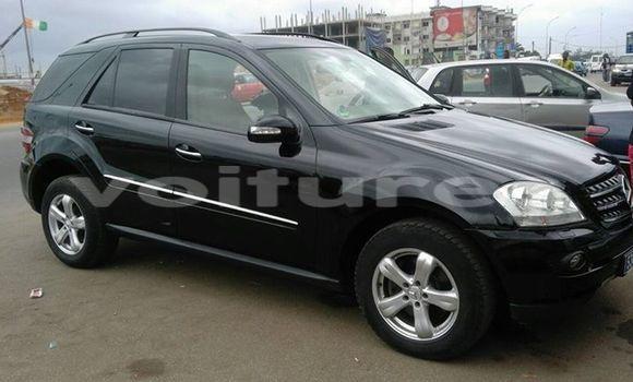 Acheter Occasion Voiture Mercedes‒Benz ML-Class Noir à Abidjan au Abidjan