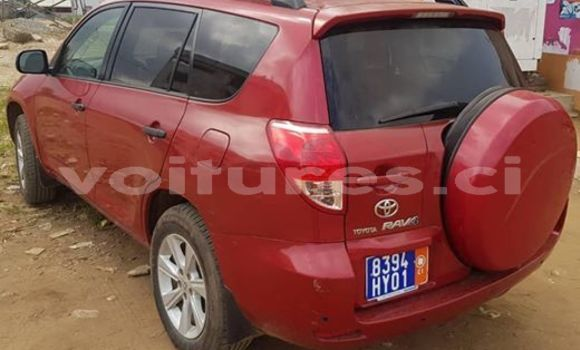 Buy Used Toyota RAV4 Red Car in Abidjan in Abidjan