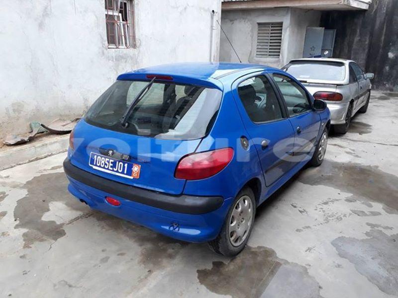 Acheter Occasion Voiture Peugeot 206 Bleu à Abidjan au ...