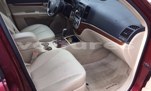 Acheter Occasion Voiture Hyundai Santa Fe Rouge à Abidjan au Abidjan