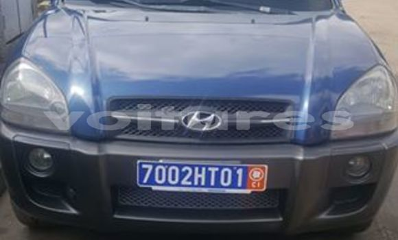 Acheter Occasions Voiture Hyundai Tucson Bleu à Abidjan au Abidjan