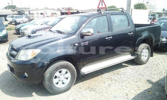 Acheter Occasion Voiture Toyota Hilux Noir à Abidjan au Abidjan