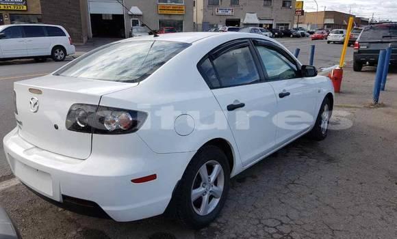 Acheter Occasion Voiture Mazda Mazda 3 Blanc à Abidjan au Abidjan