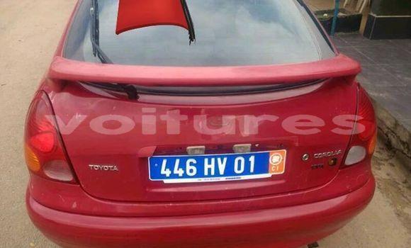 Acheter Occasion Voiture Toyota Corolla Rouge à Abidjan au Abidjan