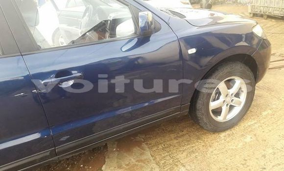 Acheter Occasions Voiture Hyundai Santa Fe Bleu à Abidjan au Abidjan