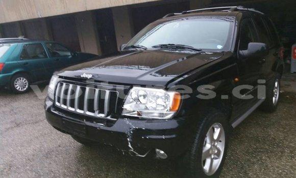 Acheter Occasion Voiture Jeep Grand Cherokee Noir à Abidjan, Abidjan