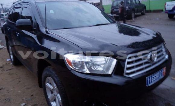 Acheter Occasion Voiture Toyota Highlander Noir à Abidjan au Abidjan