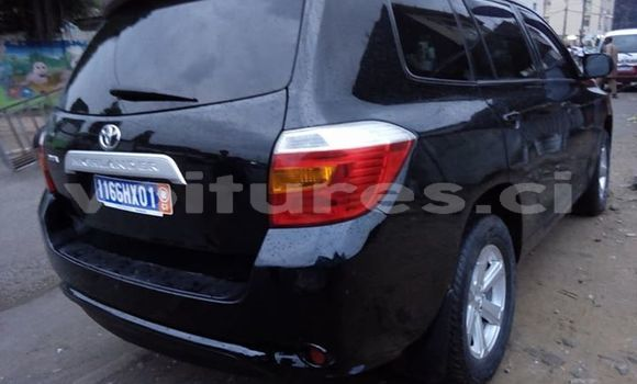 Acheter Occasion Voiture Toyota Highlander Noir à Abidjan, Abidjan