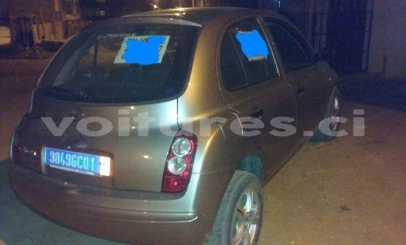 Acheter Occasion Voiture Nissan Micra Gris à Abidjan au Abidjan