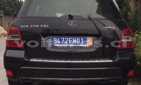 Acheter Occasion Voiture Mercedes‒Benz GLK-Class Noir à Abidjan au Abidjan