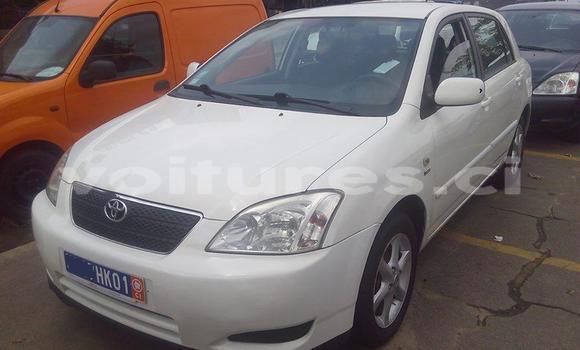 Acheter Occasion Voiture Toyota Corolla Blanc à Abidjan au Abidjan