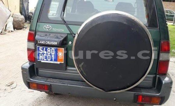 Acheter Occasion Voiture Toyota Land Cruiser Prado Vert à Abidjan au Abidjan