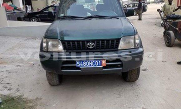 Acheter Occasion Voiture Toyota Land Cruiser Prado Vert à Abidjan, Abidjan