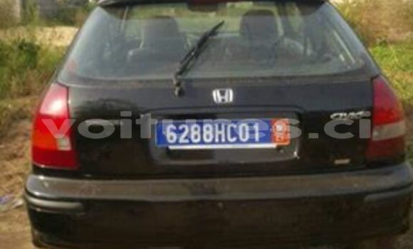 Acheter Occasion Voiture Honda Civic Noir à Abidjan au Abidjan