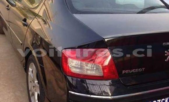 Acheter Occasion Voiture Peugeot 407 Noir à Abidjan au Abidjan