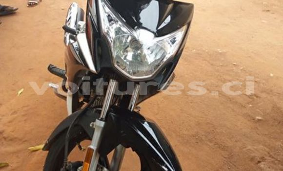 Buy Used Haojue Lucky Black Moto in Abidjan in Abidjan