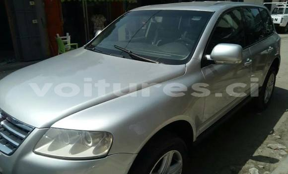 Acheter Occasion Voiture Volkswagen Touareg Gris à Abidjan au Abidjan
