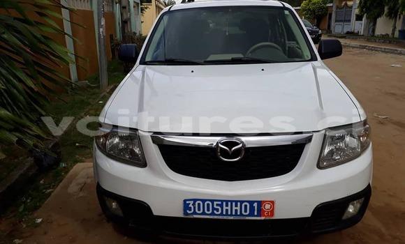 Acheter Occasion Voiture Mazda Tribute Blanc à Abidjan au Abidjan