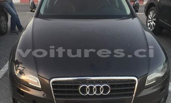 Acheter Occasion Voiture Audi A4 Noir à Abidjan, Abidjan