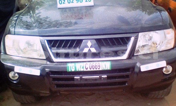 Acheter Occasion Voiture Mitsubishi Montero Noir à Abidjan, Abidjan