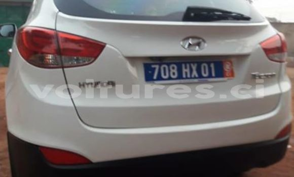 Acheter Occasion Voiture Hyundai Tucson Blanc à Abidjan, Abidjan
