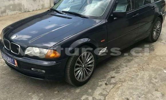 Acheter Occasion Voiture BMW 3-Series Noir à Abidjan au Abidjan