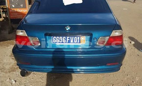 Acheter Occasion Voiture BMW 3-Series Bleu à Abidjan au Abidjan
