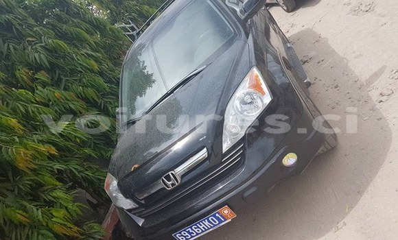 Acheter Occasion Voiture Honda CR-V Noir à Abidjan au Abidjan