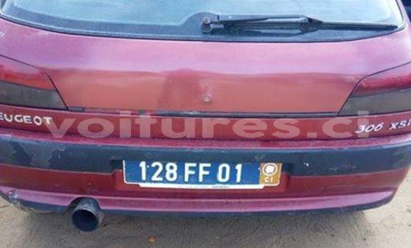 Acheter Occasion Voiture Peugeot 306 Rouge à Abidjan au Abidjan