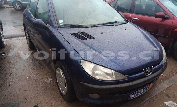 Acheter Occasions Voiture Peugeot 206 Bleu à Abidjan au Abidjan