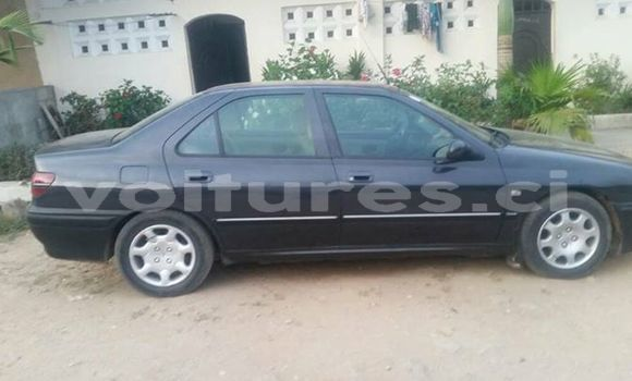 Acheter Occasion Voiture Peugeot 406 Noir à Abidjan au Abidjan