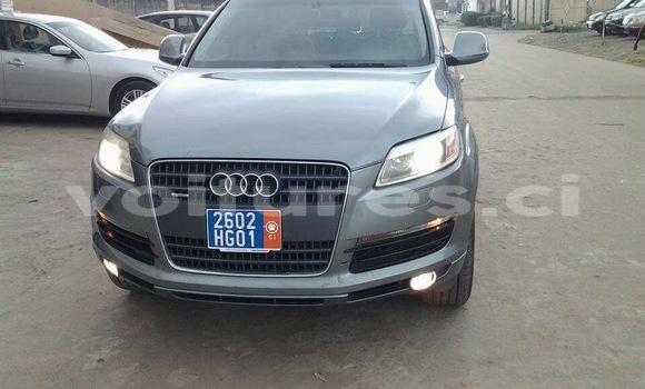 Acheter Occasions Voiture Audi Q7 Gris à Abidjan au Abidjan