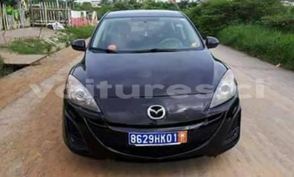 Acheter Occasion Voiture Mazda Mazda 3 Bleu à Abidjan au Abidjan