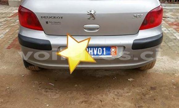 Acheter Occasions Voiture Peugeot 307 Gris à Abidjan au Abidjan