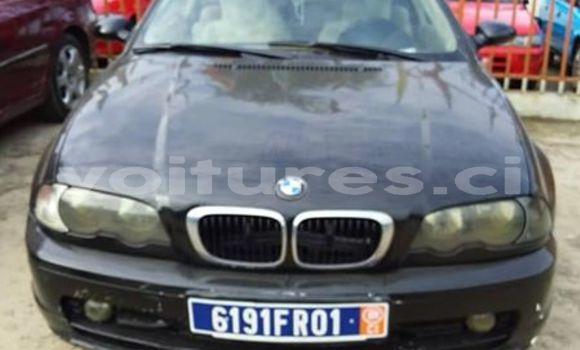 Acheter Occasions Voiture BMW 3–Series Noir à Abidjan au Abidjan