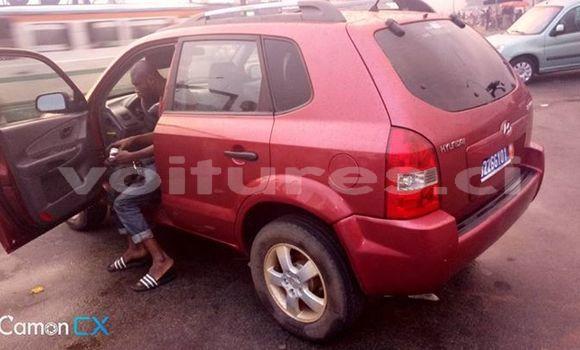 Acheter Occasions Voiture Hyundai Tucson Rouge à Abidjan au Abidjan