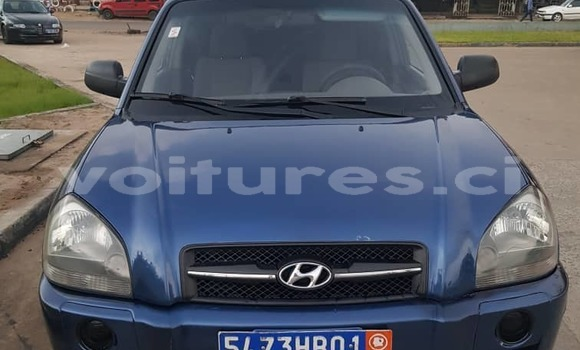 Acheter Occasions Voiture Hyundai Tucson Bleu à Abidjan, Abidjan