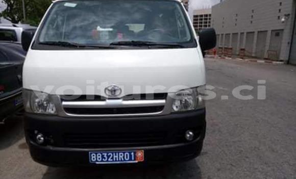 Acheter Occasion Voiture Toyota Hiace Blanc à Abidjan, Abidjan