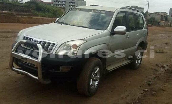 Acheter Occasion Voiture Toyota Land Cruiser Prado Gris à Abidjan, Abidjan