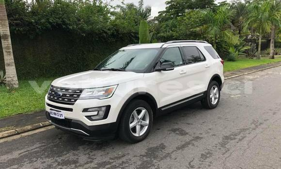 Acheter Occasion Voiture Ford Explorer Blanc à Abidjan, Abidjan