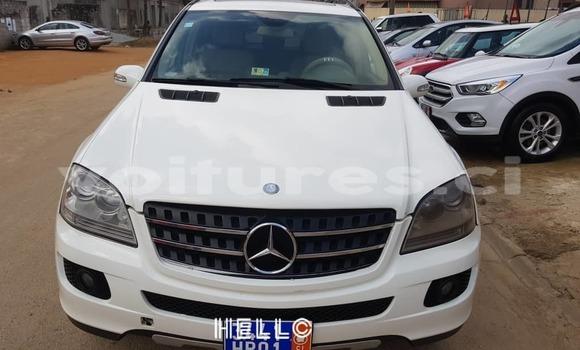 Acheter Occasion Voiture Mercedes‒Benz ML–Class Blanc à Abidjan, Abidjan