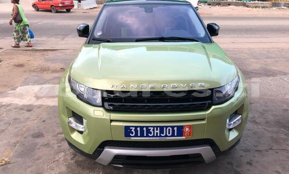 Acheter Occasion Voiture Land Rover Range Rover Evoque Vert à Abidjan, Abidjan