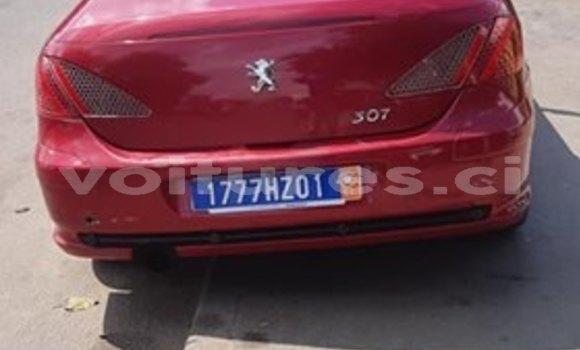 Acheter Occasion Voiture Peugeot 307 Rouge à Abidjan, Abidjan