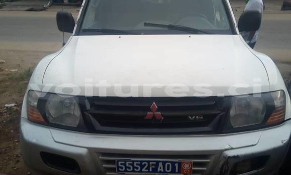 Acheter Occasion Voiture Mitsubishi Pajero Blanc à Abidjan, Abidjan