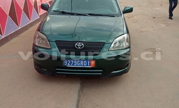 Acheter Occasion Voiture Toyota Corolla Vert à Abidjan, Abidjan
