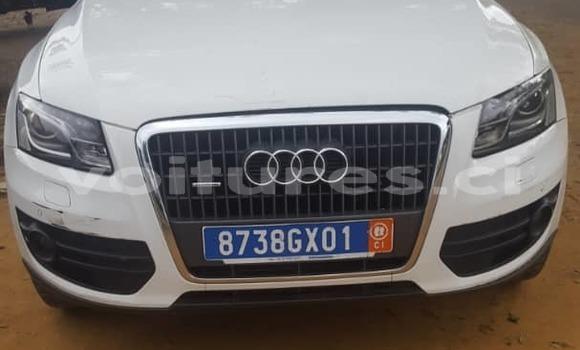 Acheter Occasion Voiture Audi Q5 Blanc à Abidjan, Abidjan