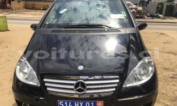 Acheter Occasion Voiture Mercedes‒Benz A–Class Noir à Abidjan, Abidjan