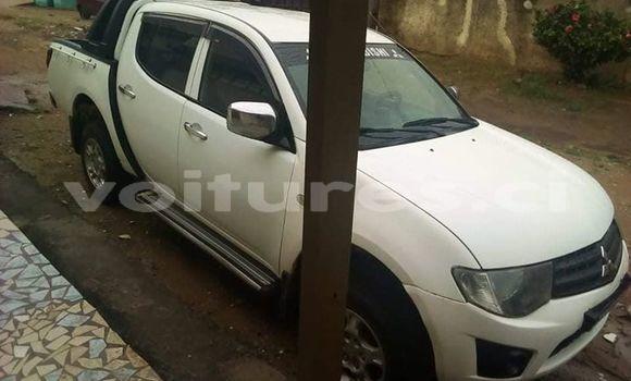 Acheter Occasion Voiture Mitsubishi L200 Blanc à Abidjan, Abidjan